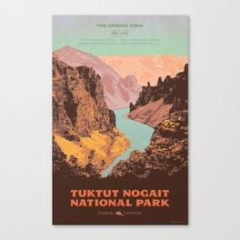 Tuktut Nogait National Park Canvas Print