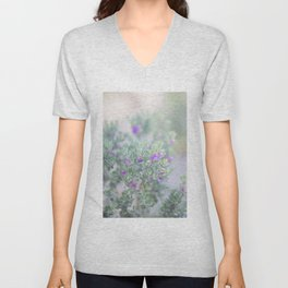 Sage in the desert Unisex V-Neck