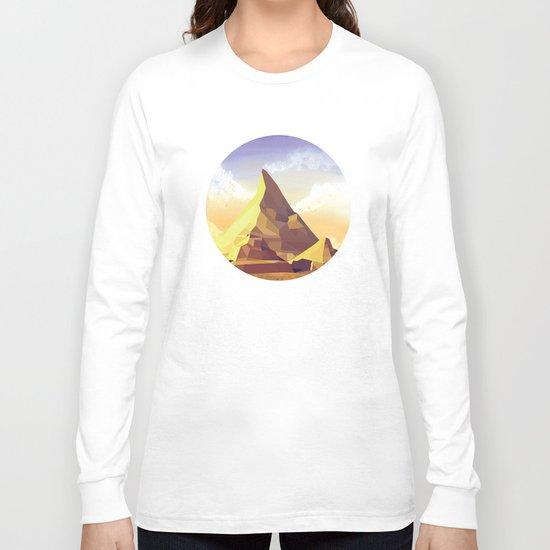 Night Mountains No. 42 Long Sleeve T-shirt