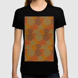Desert Circles - Burnt Orange T-shirt