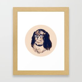 Droll Framed Art Print