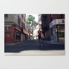 Fashion Monsters Canvas Print