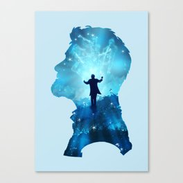 Dream  Conductor Canvas Print