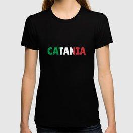 Catania Italy flag holiday gift T-shirt