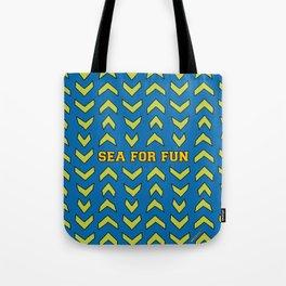 Sea for fun (blue) Tote Bag