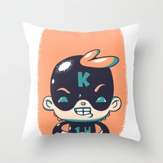 Kaptain 14 Throw Pillow