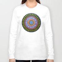 kaleidoscope Long Sleeve T-shirts featuring Kaleidoscope by DiskoGalerie
