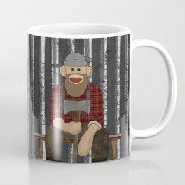 Sockmonkey Lumberjack Coffee Mug