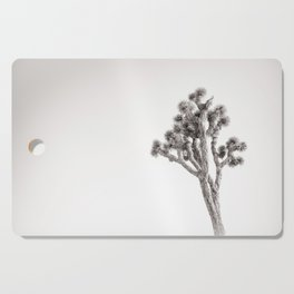 Joshua Tree in Black & White Cutting Board