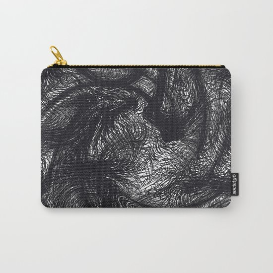 furry swirl Carry-All Pouch