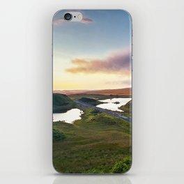 Vanishing Lakes,Ireland,Northern Ireland,Ballycastle iPhone Skin