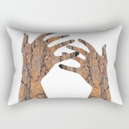 In Your Hands Rectangular Pillow