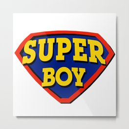 Super Boy Metal Print