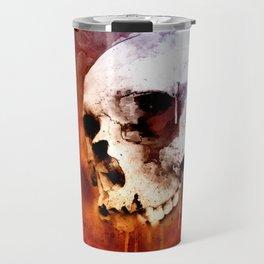 Cool Skull, Unique Best Skull Painting Travel Mug