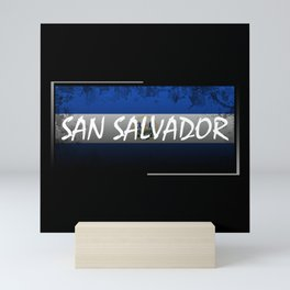 San Salvador Mini Art Print