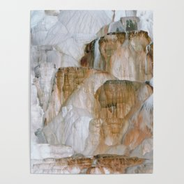 Yellowstone National Park Mammoth Hot Springs Poster