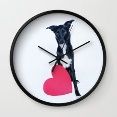Little Valentine Wall Clock