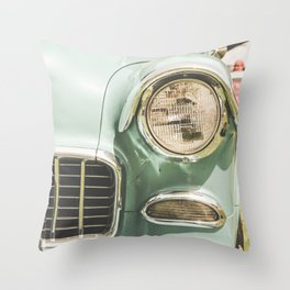 Old Ride Throw Pillow