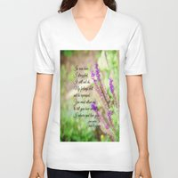 jane austen V-neck T-shirts featuring Mr. Darcy Proposal Jane Austen by KimberosePhotography