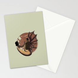 THE GREAT RED DRAGON ANT THE WOMAN CLOTHED IN THE SUN Stationery Cards
