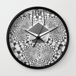 Trifold Wall Clock
