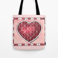 confetti Tote Bags featuring Confetti by Shelley Ylst Art
