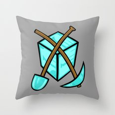 It's All About The Diamonds Throw Pillow