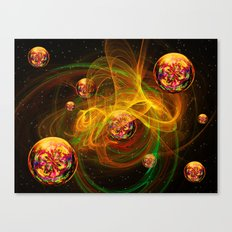 Chaos creating Universe Abstract Fantasy Canvas Print