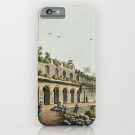 Stadium at Ephesus from Views in the Ottoman Dominions in Europe in Asia and some of the Mediterrane iPhone Case