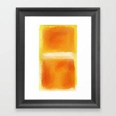 Mark Rothko Interpretation Framed Art Print