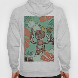Hammer and flowers Hoody
