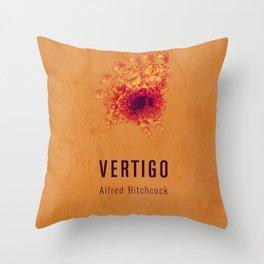 VERTIGO - Hitchcok Poster Throw Pillow