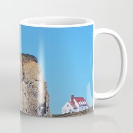 Living at the End of the World Coffee Mug