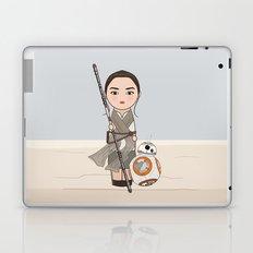Kokeshis Rey and cute droid Laptop & iPad Skin