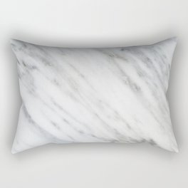 Carrara Italian Marble Rectangular Pillow