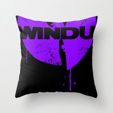 Nothing to mess with variant Throw Pillow