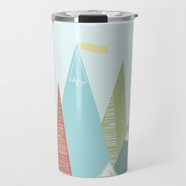 Mountain Peaks! Travel Mug