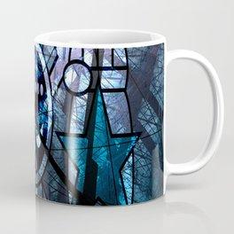 Pirates Flag with Dark Forest 4 Coffee Mug
