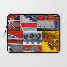 Classic Car Collage Laptop Sleeve