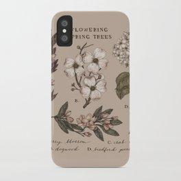 Flowering Spring Trees iPhone Case