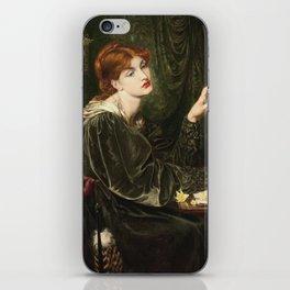 Dante Gabriel Rossetti - Veronica Veronese iPhone Skin