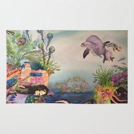 Journey Under the Sea by Maureen Donovan Rug
