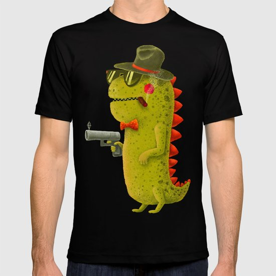 Dino bandito (olive) T-shirt