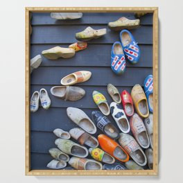 Wodden shoes Serving Tray