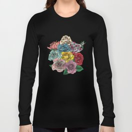 Flowers in Roses Long Sleeve T-shirt