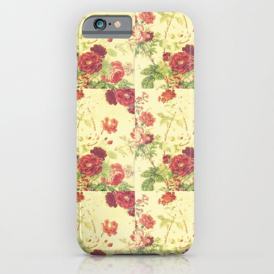 vintage blossom iPhone & iPod Case