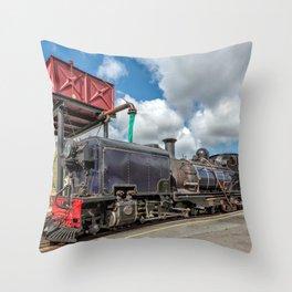 Welsh Highland Railway Throw Pillow