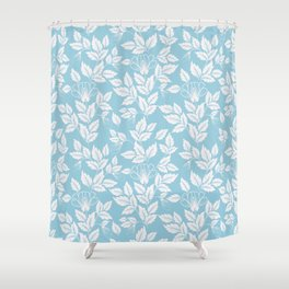Leaves Pattern 10 Shower Curtain
