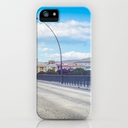 The road and lights in Spain, Andalusia iPhone Case