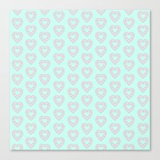 Happy Heart Gems Canvas Print